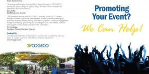 Cogeco Cable marketing brochure outside spread