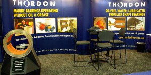 Thordon Bearings marketing brochures and trade shows.