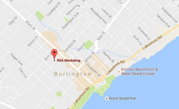 RSA Marketing Burlington office location
