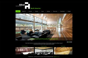 Atkar North America website