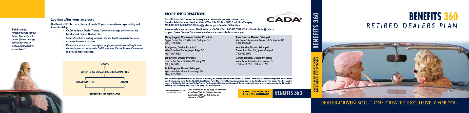 CADA Services direct mail