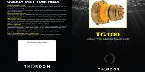 Thordon Bearings TG100 Seals brochure outside cover