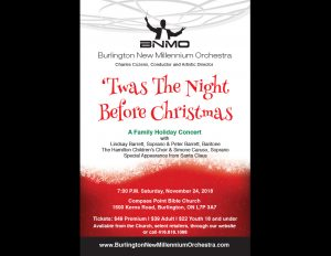BNMO Holiday concert.
