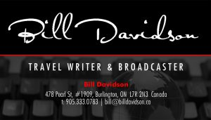 Bill Davidson business card