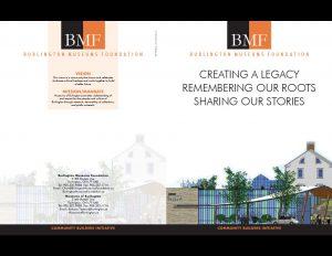 BMF legacy brochure outside..