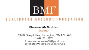 Burlington Museums Foundation brand identity