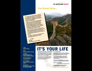 CADA Benefits 360 advert.