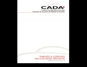 CADA Brand Templates 80-page guide.