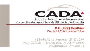 CADA brand identity
