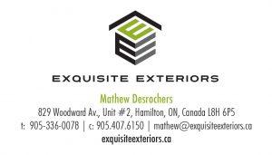 Exquisite Exteriors brand identity.