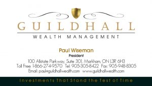 Guildhall Wealth Management brand identity.