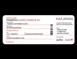 Kaajenga Air Canada flight pass