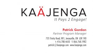 Kaajenga business card