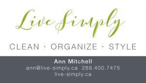 Live Simply brand identity