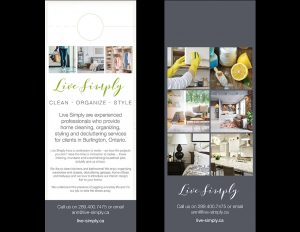 Live Simply Door Hanger.