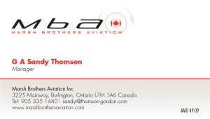 Marsh Brothers Aviation brand identity