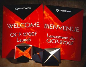 Qualcomm Product launch.