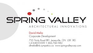 Spring Valley Architectural Innovations brand identity