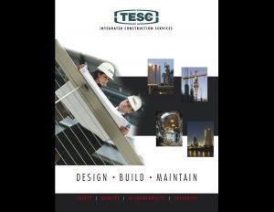 TESC brochure cover.