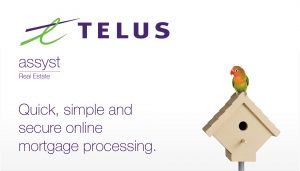 Telus Real Estate branding