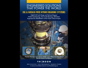 Thordon Bearings Hydro Bearing ad.