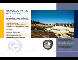 Thordon Hydro-Turbine Bearings brochure