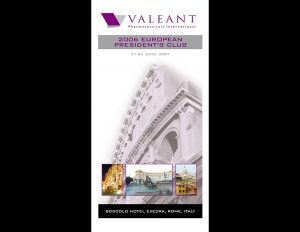 Valeant Rome travel incentive.