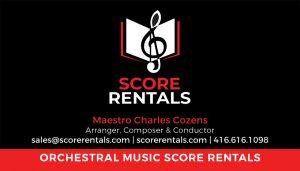 Score Rentals Brand identity.