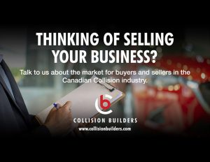 Collision Builders LinkedIn Ad.