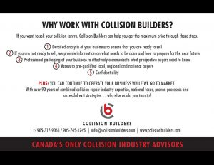 Collision Builders Direct Mail.