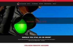Collision Builders website