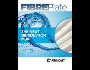 FibrePlate Fibracast brochure cover.